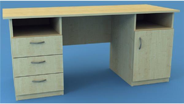 Стол тумбовый 2СТ/1L (левый)
