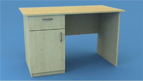 Стол тумбовый СТ120/1L (левый)