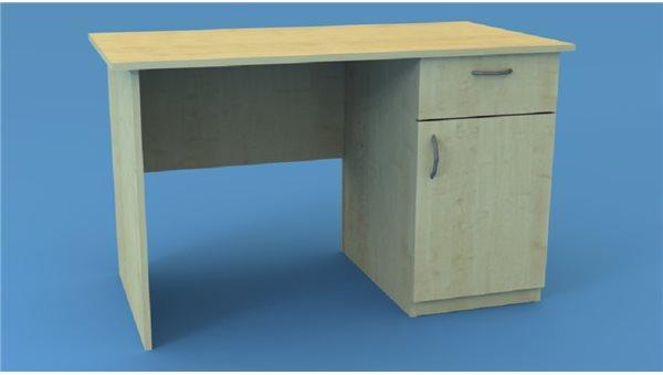 Стол тумбовый СТ120/1R (правый)