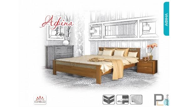 """Деревянная кровать """"Афины"""""""