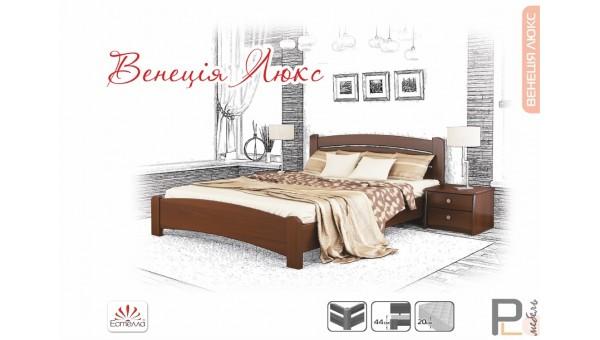 """Деревянная кровать """"Венеция"""""""