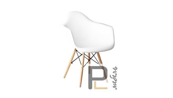 "Кресло ""Прайз"" (ПЛ белый)"