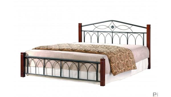 Кровать Миранда двуспальная каштан