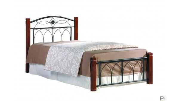 Кровать Миранда односпальная каштан