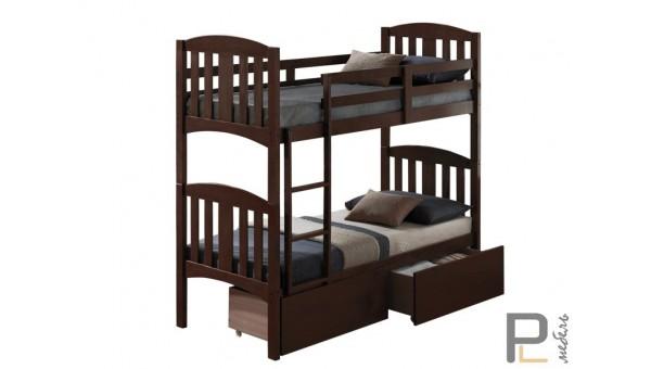 Кровать Мальвина редвуд