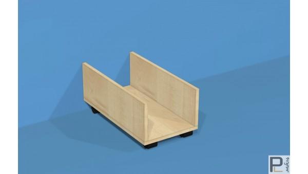 Подставка под системный блок ПСК/2 (колеса)