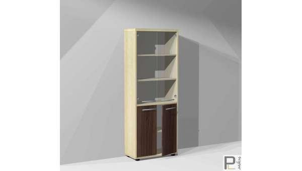 Шкаф для док-в Блэквуд ШБ-6/S со стеклом