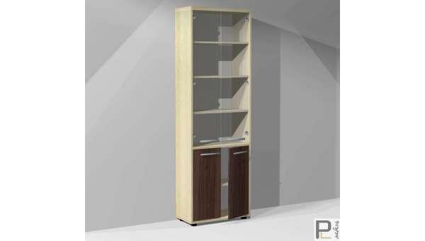 Шкаф для док-в Блэквуд ШБ-6/1 S со стеклом