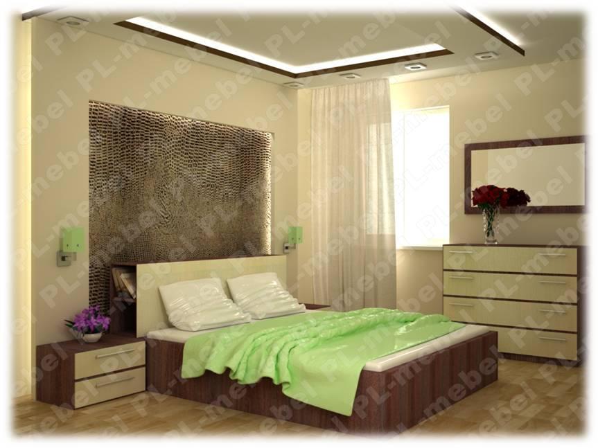 коллекция мебели для спальни от Pl Мебель