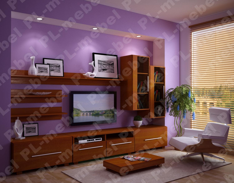 Мебель цвета вишня в интерьере фото