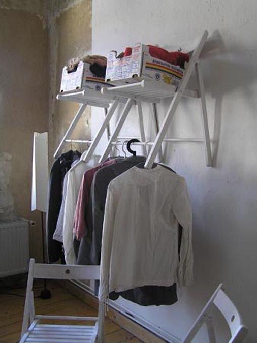 стулья вешалки